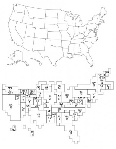 By Cartogram-2008 Electoral Vote-es.svg: *Cartogram-2008 Electoral Vote.png: ChrisnHouston Derivativ