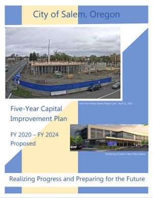 City of Salem 2020 Capital Improvement Plan