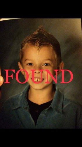 Search for Missing 7 Year Old Boy in Salem