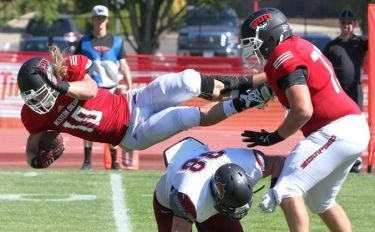 The Western Oregon University football team travels to unbeaten and the number five team in NCAA Div