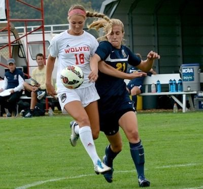 The Western Oregon University soccer team won its Great Northwest Athletic Conference season opener