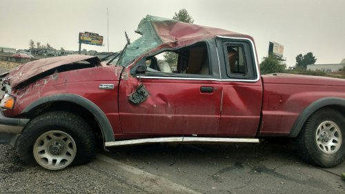 Crash Scene Photo: Linn County Sheriff's Office